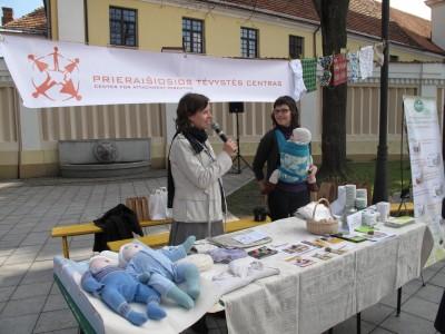 """""""Vystyklų dienos 2012"""" baigiamoji šventė S.Moniuškos skvere, Vilniuje."""